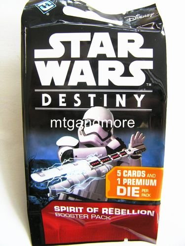 Star Wars Destiny - Spirit of Rebellion Booster Pack