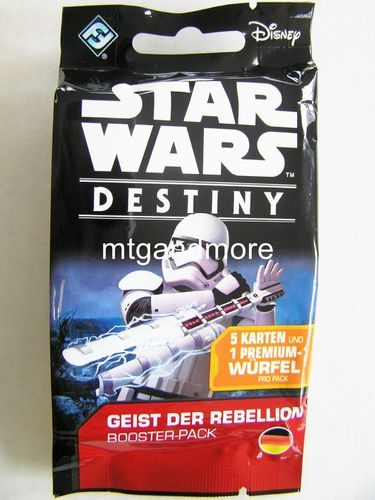 Star Wars Destiny - Geist der Rebellion Booster Pack