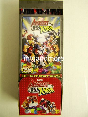 Dice Masters Avengers vs X-Men Gravity Feed Display DEUTSCH