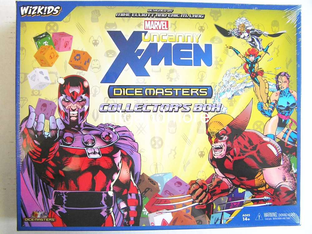 10-pack by WizKids Marvel Dice Masters Uncanny X-Men Gravity Feed Boosters