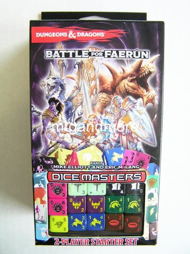 Dice Masters D&D Battle for Faerun Starter Set