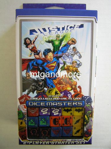 Dice Masters Justice League Starter Set