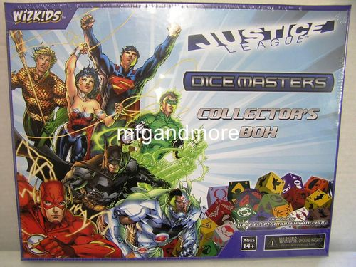 Dice Masters Justice League Collector's Box