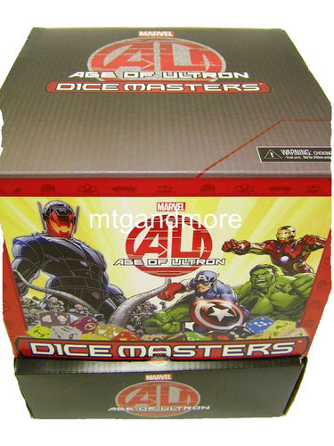 Dice Masters Age of Ultron Gravity Feed Display