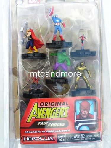 Heroclix Classic Avengers Fast Forces Pack