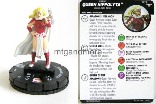 Heroclix - #003 Queen Hippolyta - Wonder Woman