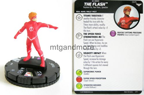Heroclix - #005 Flash - Wonder Woman