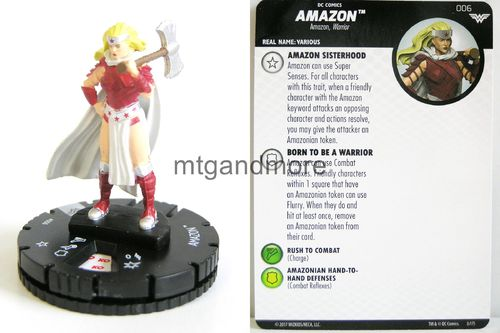 Heroclix - #006 Amazon - Wonder Woman
