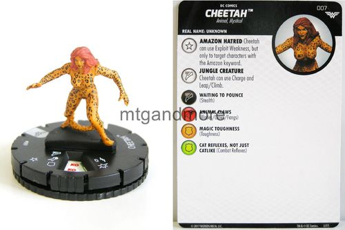 Heroclix - #007 Cheetah - Wonder Woman