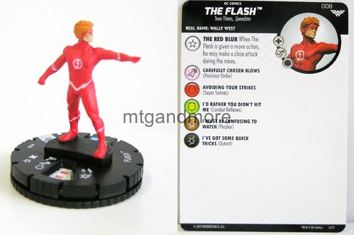 Heroclix - #008 Flash - Wonder Woman