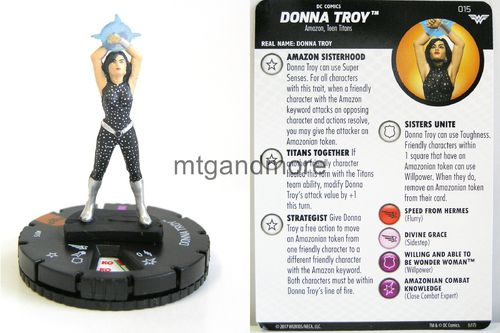 Heroclix - #015 Donna Troy - Wonder Woman