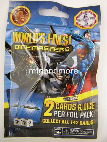 Dice Masters World's Finest 1x Booster Pack