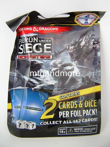 Dice Masters D&D Faerun under Siege 1x Booster Pack