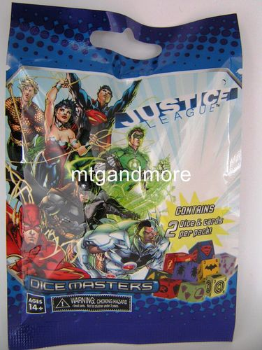 Dice Masters Justice League 1x Booster Pack