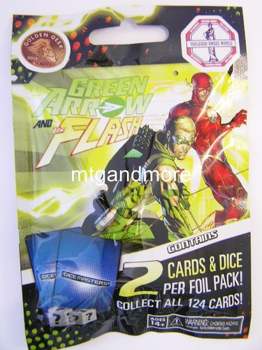 Dice Masters Green Arrow and the Flash 1x Booster Pack