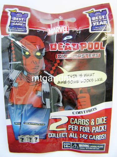 Dice Masters Deadpool 1x Booster Pack