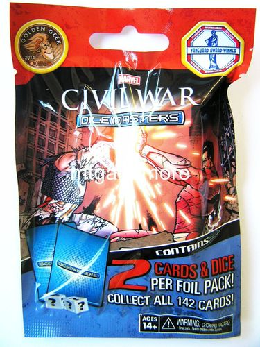 Dice Masters Civil War 1x Booster Pack