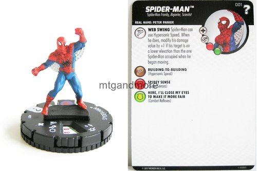 Heroclix - #001 Spider-Man - 15th Anniversary What If…