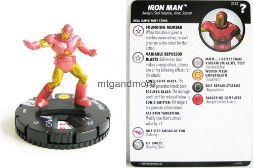 Heroclix - #002 Iron Man - 15th Anniversary What If…