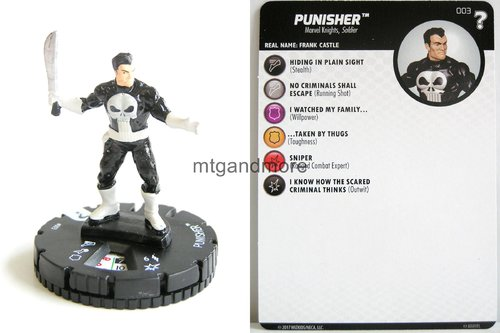 Heroclix - #003 The Punisher - 15th Anniversary What If…