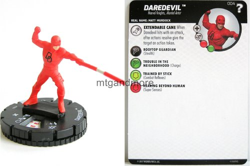 Heroclix - #004 Daredevil - 15th Anniversary What If…