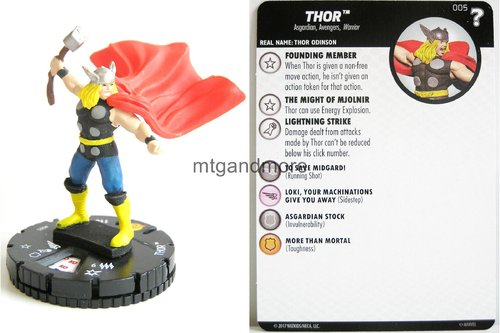Heroclix - #005 Thor - 15th Anniversary What If…