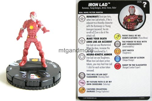 Heroclix - #006 Iron Lad - 15th Anniversary What If…