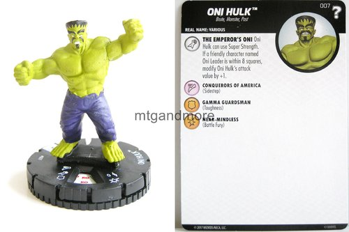 Heroclix - #007 Oni Hulk - 15th Anniversary What If…