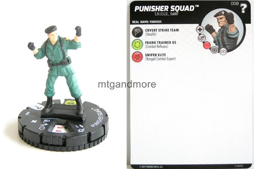 Heroclix - #008 Punisher Squad - 15th Anniversary What If…
