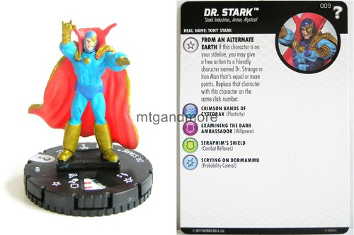 Heroclix - #009 Dr. Stark - 15th Anniversary What If…