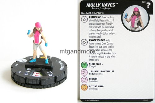 Heroclix - #011 Molly Hayes - 15th Anniversary What If…