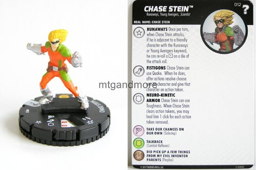 Heroclix - #012 Chase Stein - 15th Anniversary What If…