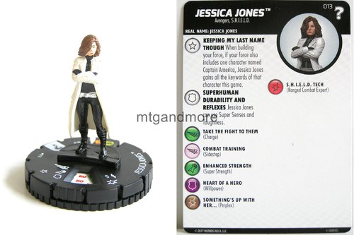 Heroclix - #013 Jessica Jones - 15th Anniversary What If…