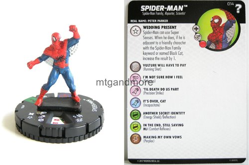 Heroclix - #014 Spider-Man - 15th Anniversary What If…