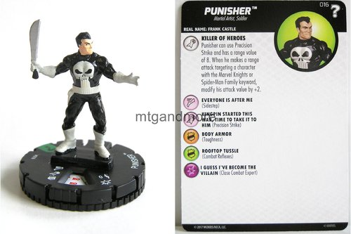 Heroclix - #016 Punisher - 15th Anniversary What If…