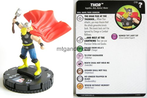 Heroclix - #018 Thor - 15th Anniversary What If…