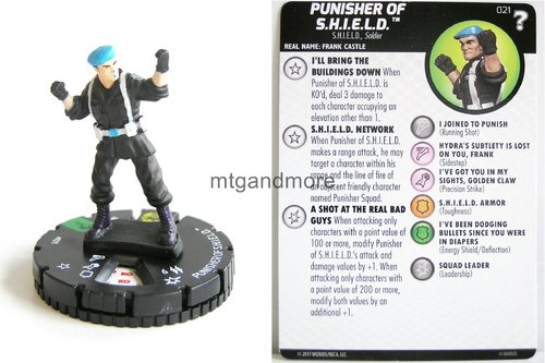 Heroclix - #021 Punisher of S.H.I.E.L.D. - 15th Anniversary What If…