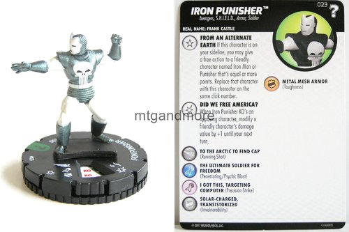 Heroclix - #023 Iron Punisher - 15th Anniversary What If…
