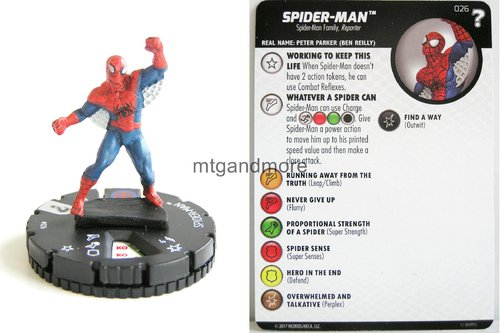 Heroclix - #026 Spider-Man - 15th Anniversary What If…