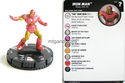 Heroclix - #027 Iron Man - 15th Anniversary What If…