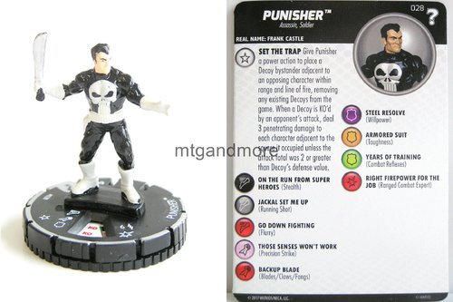 Heroclix - #028 Punisher - 15th Anniversary What If…
