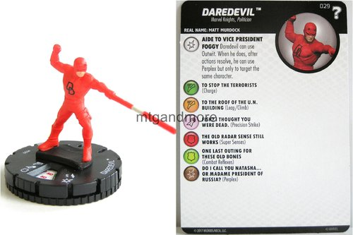 Heroclix - #029 Daredevil - 15th Anniversary What If…
