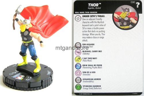 Heroclix - #030 Thor - 15th Anniversary What If…