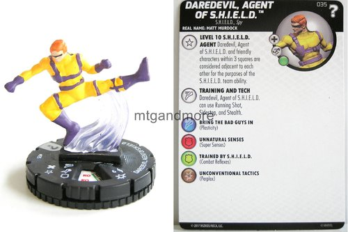 Heroclix - #035 Daredevil, Agent of S.H.I.E.L.D. - 15th Anniversary What If…