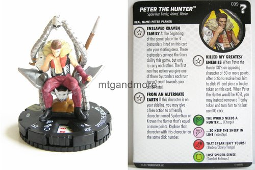 Heroclix - #039 Peter the Hunter - 15th Anniversary What If…