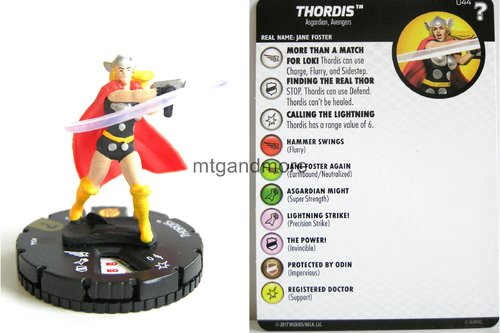 Heroclix - #044 Thordis - 15th Anniversary What If…