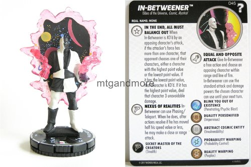 Heroclix - #045 In-Betweener - 15th Anniversary What If…