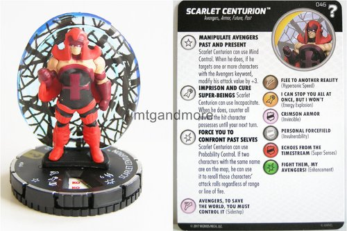 Heroclix - #046 Scarlet Centurion - 15th Anniversary What If…