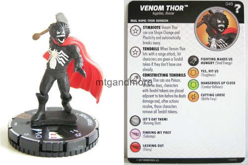 Heroclix - #049 Venom Thor - 15th Anniversary What If…