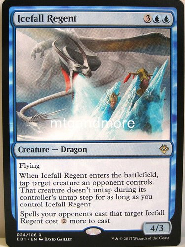 Magic - Icefall Regent - Archenemy Nicol Bolas
